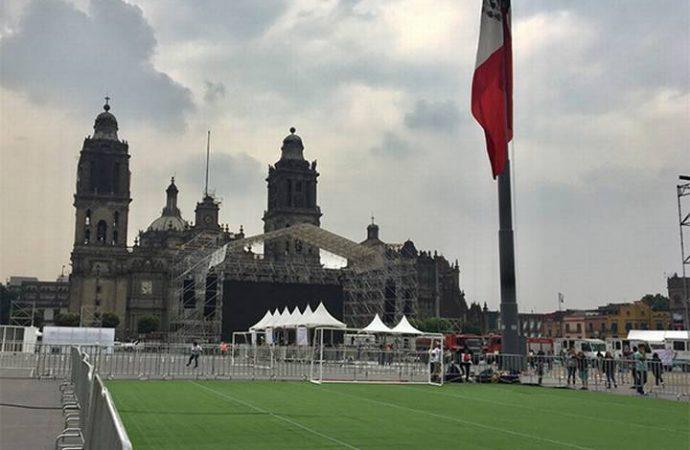 Inauguran el Zocafut en la Ciudad de México