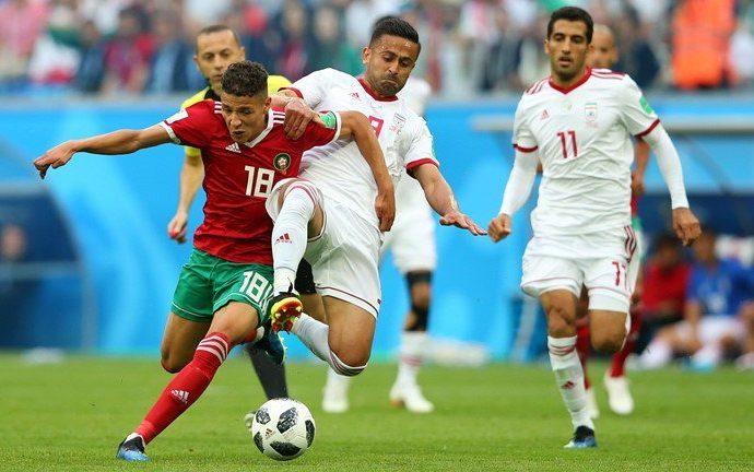 Con autogol de último minuto, Irán gana 1-0 a Marruecos