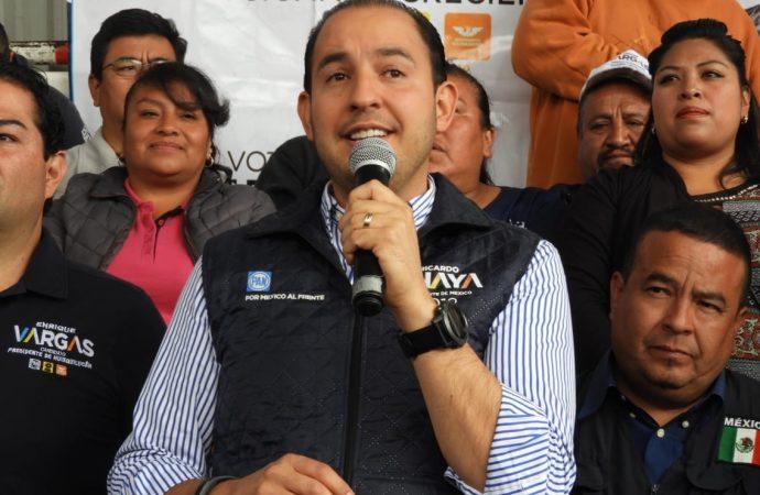Anaya: mejor futuro; Meade: mediocridad; AMLO: retroceso, afirma Marko Cortés