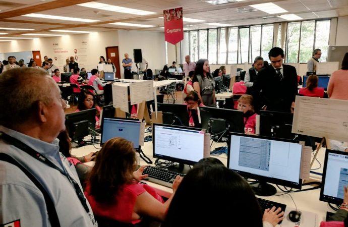 Instituto Electoral realiza con éxito Simulacro Nacional del PREP