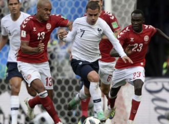 """Con empate a ceros, Francia y Dinamarca sellan su boleto a """"octavos"""""""