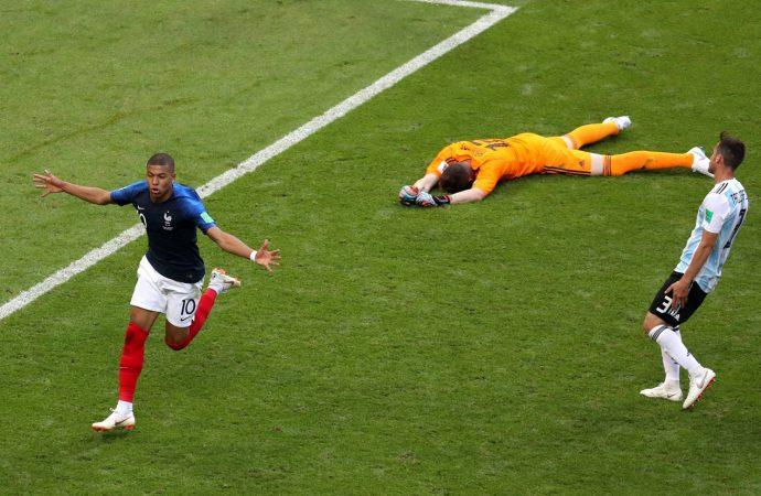 Francia elimina a Argentina y avanza a cuartos del Mundial