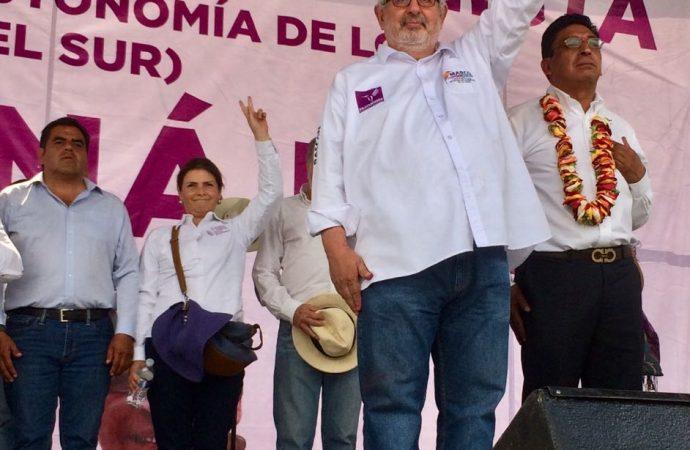 """Crear parlamento """"autónomo"""" de los pueblos originarios del sur de CDMX: Marco Rascón"""