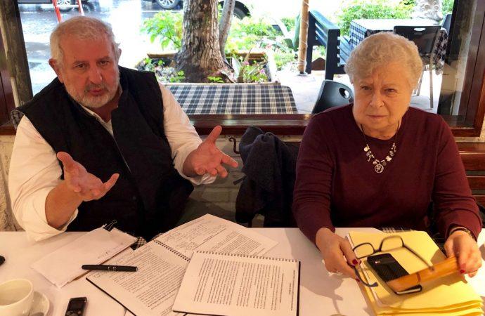 Sostienen Marco Rascón y Observatorio Ciudadano reunión para defensa de la constitución de CDMX
