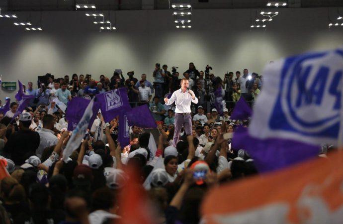 """""""No le saquen"""", pide Ricardo Anaya a Meade y AMLO ante su negativa de dialogar con jóvenes"""