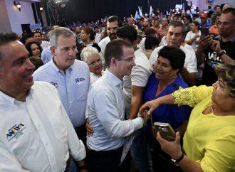 En México ya no habrá intocables, asegura Ricardo Anaya en Coahuila