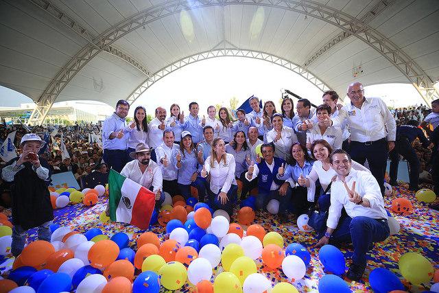 Con fuerza, entusiasmo, determinación y con la esperanza que se vuelve invencible, va Ricardo Anaya por la victoria el próximo domingo