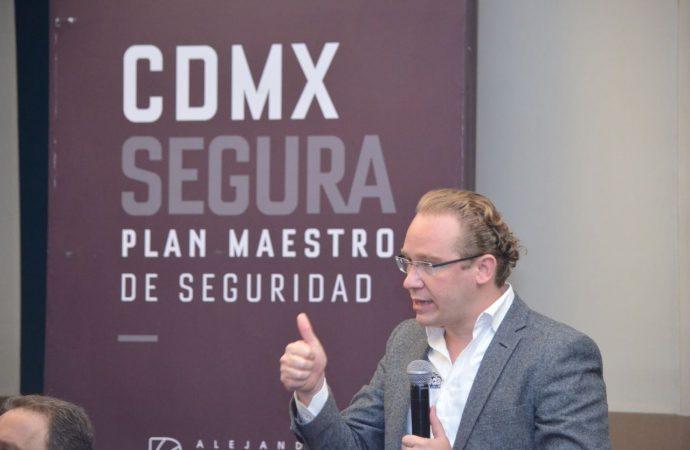 Firman Santiago Taboada y Alejandra Barrales Plan Maestro por la paz y la seguridad en Benito Juárez
