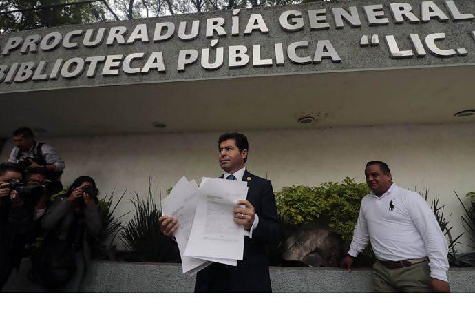 Presenta PAN denuncia contra Meade por Estafa Maestra