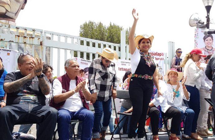 Iztapalapa será el principal polo cultural del oriente de la ciudad: Clara Brugada