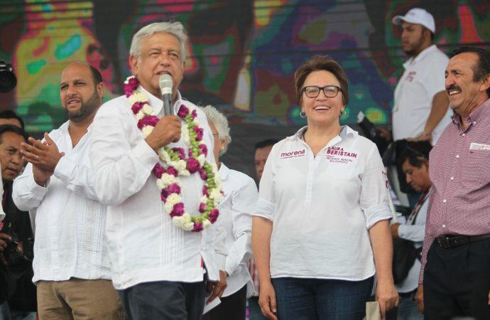 MORENA-PT Ganará contundente en las urnas: Laura Beristain