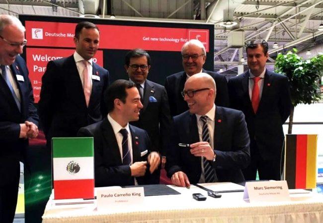 Hannover Messe dejó negocios para México por 14 mil 600 mdp