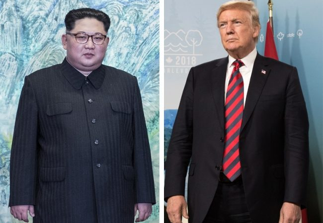 """Trump deja G-7 para reunión con Kim en """"misión de paz"""""""