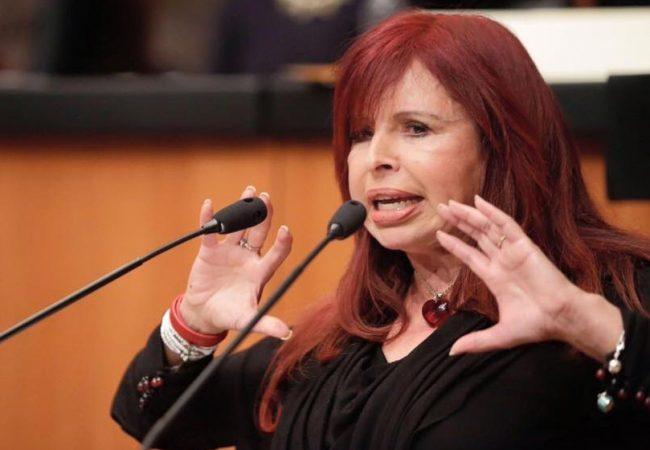 Critican apoyo de la morenista Irma Sandoval a Layda Sansores