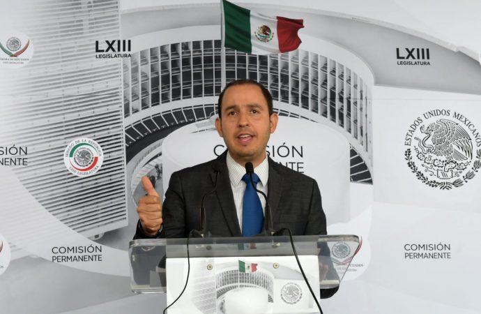 Pide Cortés Mendoza al TEPJF que no avale la candidatura de Gómez Urrutia como senador por Morena