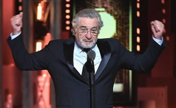 """Robert De Niro vuelve alzar la voz: ¡Jódete Trump!"""""""