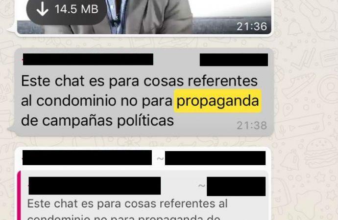 Vecinos de Víctor Romo, hartos de su campaña hasta por whatsapp