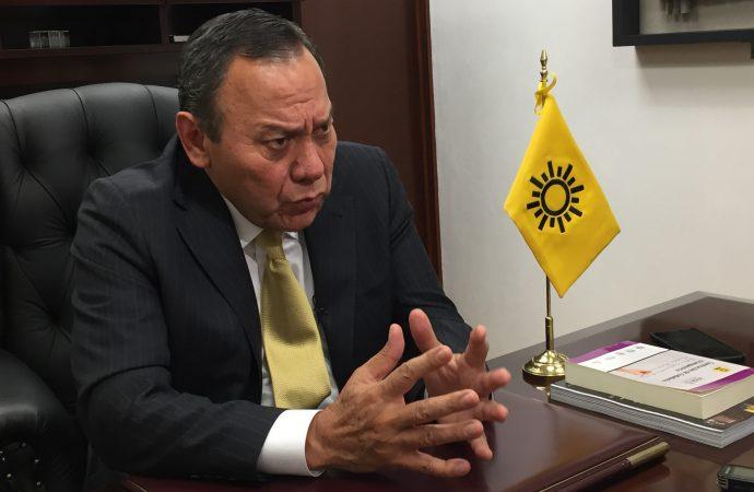 PRD desconoce a Omar Ortega como su coordinador en San Lázaro; respalda la labor de Jesús Zambrano