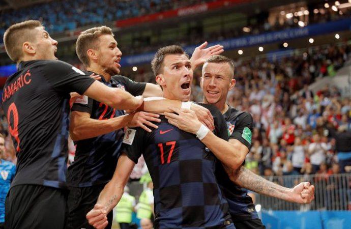 Croacia llega por primera vez a una final al derrotar 2-1 a Inglaterra