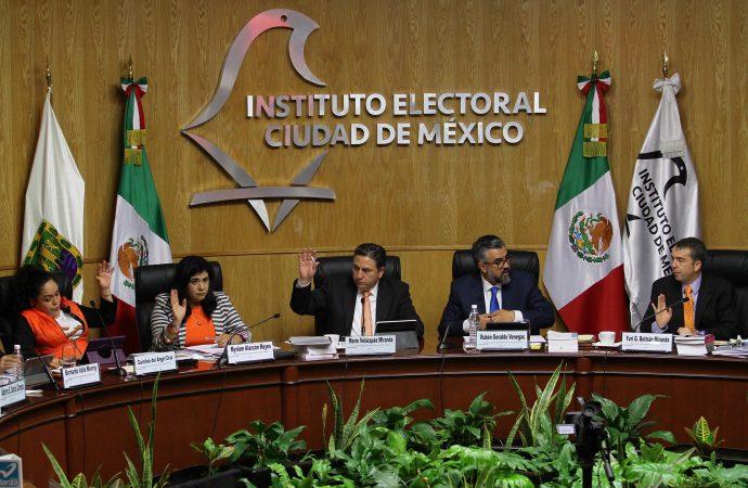 Terminan cómputos del proceso electoral en la Ciudad de México