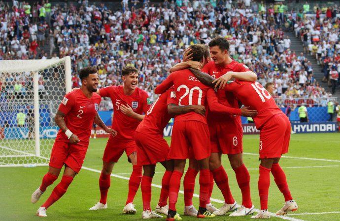 Inglaterra elimina a Suecia y clasifica a semifinales en Rusia 2018