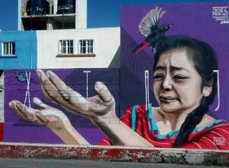 Artista triqui pintará murales en cinco países de Europa