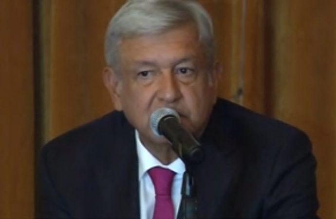 Inicia López Obrador el cambio de régimen