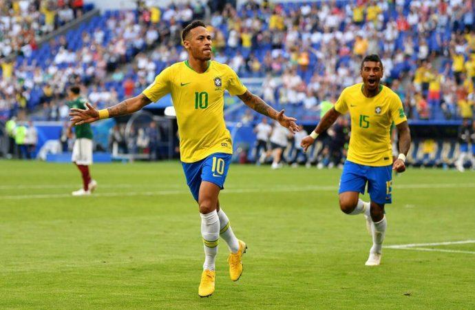 México pierde 0-2 con Brasil