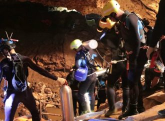 Concluye segunda fase con rescate de cuatro niños atrapados en Tailandia