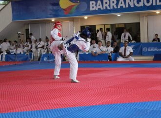 Mexicana Daniela Souza cumple y se lleva oro en taekwondo de JCC 2018