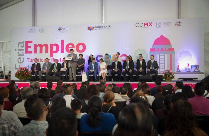 Arranca Feria Del Empleo Turística Y Restaurantera en la CDMX