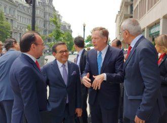 Concluye gira de trabajo de la delegación mexicana en Washington