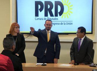 Fractura en el PRD, se declara Ortega Álvarez coordinador del grupo parlamentario en la Cámara de Diputados