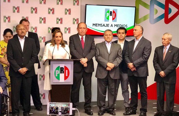 Renuncia René Juárez a la presidencia del PRI