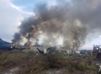 Se accidenta avión de Aeroméxico que cubría ruta Durango-México; no reportan fallecidos