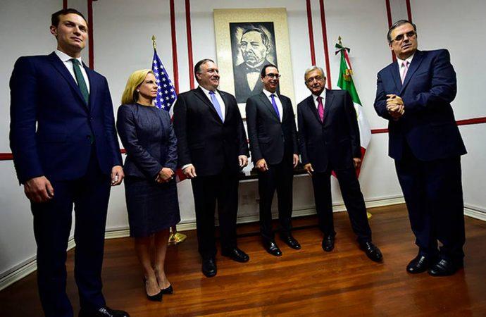 México y EU socios, aliados y amigos, destaca Michael Pompeo