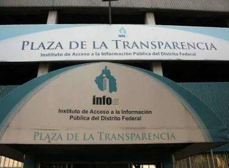 No hay transparencia en el InfoDF