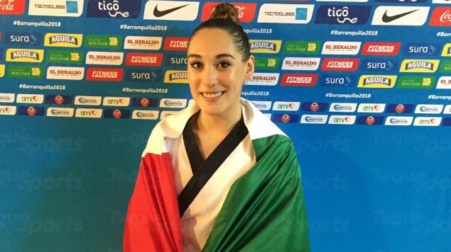 Daniela Rodríguez da el primer oro a México en los Juegos Centroamericanos