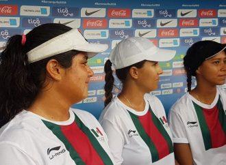 Mexicanas ganan medalla de oro en arco compuesto por equipos femenil