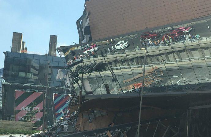 Protección Civil de la ALDF pide a autoridades de la CDMX investigue a fondo derrumbe de parte de plaza comercial Artz