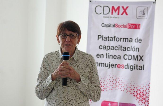 Fortalece Inmujeres CDMX capacitación en línea sobre igualdad de género
