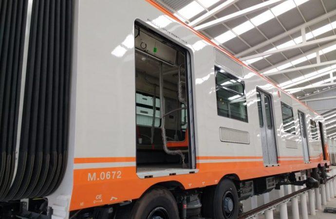 En pruebas el primer tren nuevo para la Línea 1