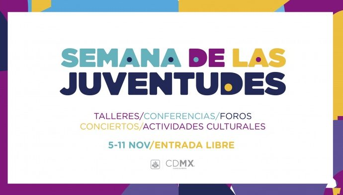Será del 5 al 11 de noviembre la Semana de las Juventudes