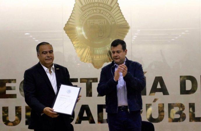 Recibe nombramiento Raymundo Collins como secretario de Seguridad Pública de la Ciudad de México