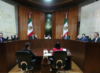 TEPJF rechaza recuento de votos de PANAL y PES para mantener registro