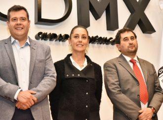 Sheinbaum y Amieva unidos en pro de la Reconstrucción CDMX