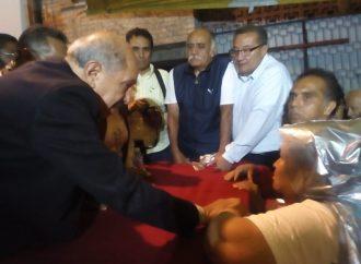 Armando Quintero Martínez se compromete a cumplir sus promesas a los Iztacalquenses