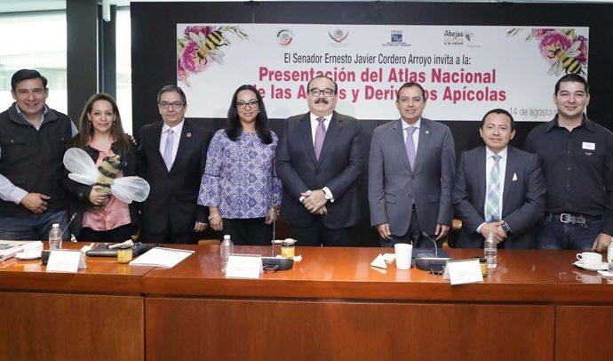 Presentan en el Senado de la República Atlas Nacional de las Abejas