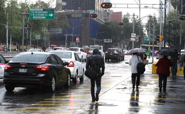 Probabilidad de lluvias fuertes y granizo en gran parte de la capital