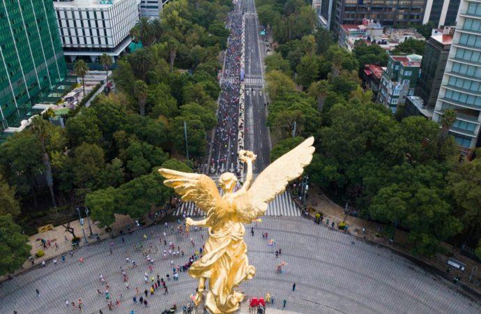 Sin mayor novedad concluyó la Edición XXXVI del Maratón de la Ciudad de México Telcel 2018